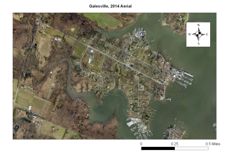 2014 Aerial of Galesville